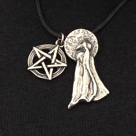 Witch's Full Moon Journey Pendant