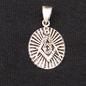 Sterling Silver Masonic Pendant