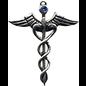 Caduceus Amulet for Healing Ability