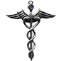 OMEN Caduceus Amulet for Healing Ability