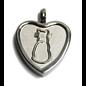 Purrfect Heart Keepsake Love Vial