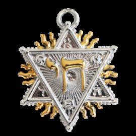 Figure of Solomon Pendant - Spiritual Prosperity
