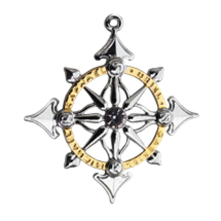 Starlinks Archangel Compass Pendant - Harmony in People & Places