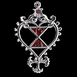 Pentacle of Venus Pendant - Loving Relationships