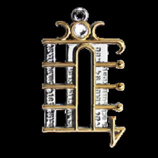 Lunar Pentacle Pendant - Liberation of Spirit