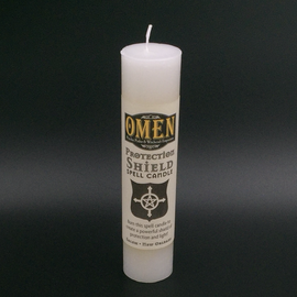 Protection Shield Pillar Candle