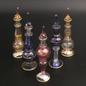 Medium Glass Egyptian Perfume Glass Bottle