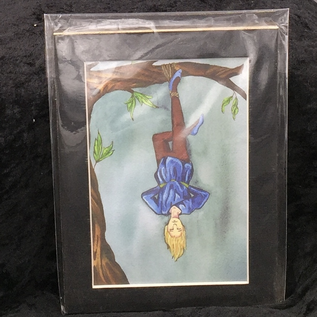 The Hanged Man - Signed and Matted Tarot Print