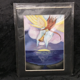 Judgement - Signed and Matted Tarot Print