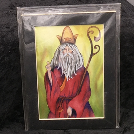 The Heirophant - Signed and Matted Tarot Print