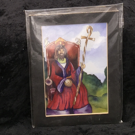 The Emperor - Signed and Matted Tarot Print