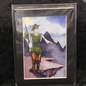 OMEN The Fool - Signed and Matted Tarot Print