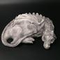 OMEN Sleeping Dragon Statue in Stone