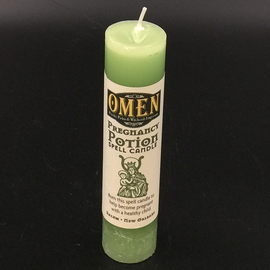 OMEN Pregnancy Potion Pillar Candle