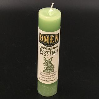 Pregnancy Potion Pillar Candle