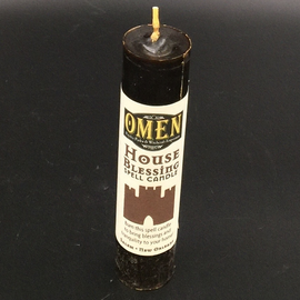 House Blessing Pillar Candle