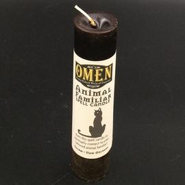 OMEN Animal Familiars Pillar Candle