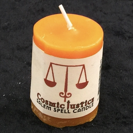 Cosmic Justice Votive Candle