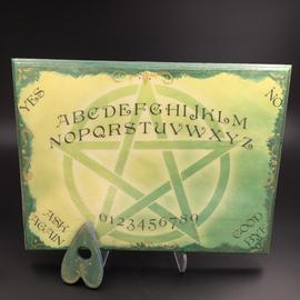 Green Pentacle Spirit Board