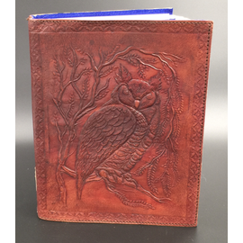Small Owl Journal in Brown