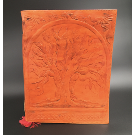 Large Tree of Life Journal in Orange