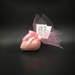 OMEN Pure Magic Love Potion Crystal Ball Bath Bomb with a Rose Quartz Crystal Inside!