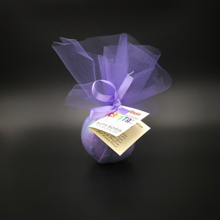 Pure Magic Dream Potion Crystal Ball Bath Bomb with a Fluorite Crystal Inside!