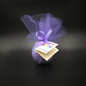 Dark Candles Pure Magic Dream Potion Crystal Ball Bath Bomb with a Fluorite Crystal Inside!