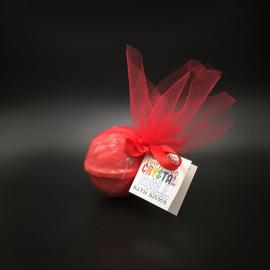 Pure Magic Lust Potion Crystal Ball Bath Bomb with a Garnet Crystal Inside!