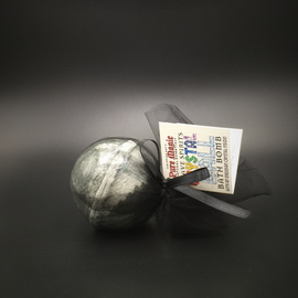 OMEN Pure Magic Grave Spirits Crystal Ball Bath Bomb with an Obsidian Crystal Inside!