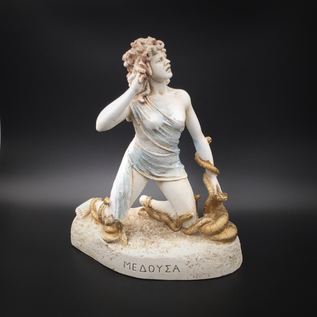 Medusa statue  - 7.7 Inches Tall - Made in Greece