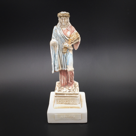 Demeter statue - 6.3 Inches Tall - Made in Greece