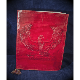 Large Isis Journal in Red