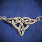OMEN Large Triquetra Centerpiece Pendant in Sterling Silver