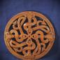 OMEN Celtic Fertility Knot Wall Hanging in Mahogany