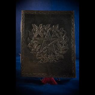 OMEN Large Herbal Pentagram Journal in Black