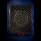 Large Herbal Pentagram Journal in Black