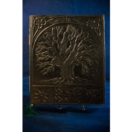 Small Tree of Life Journal in Black