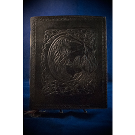 Small Raven Journal in Black