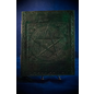 Small Pentacle in Square Journal in Green