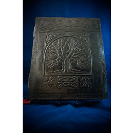 Large Tree of Life Journal in Black