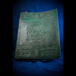 OMEN Large Dragon Journal in Green