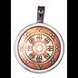 Dharma Wheel Talisman for Perfection & Peace