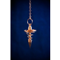 OMEN Copper Spiral Metal Pendulum