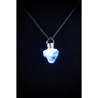 Firefly Pendant with Apophyllite Point