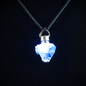 OMEN Firefly Pendant with Apophyllite Point