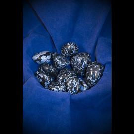Stone Spinner Snowflake Obsidian