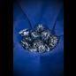 Azure Green Tumbled Snowflake Obsidian
