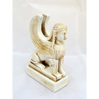 Sphinx statue - 5.5 Inches Tall - Made in Greece
