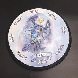 Scorpio Zodiac Pendulum Board - Round